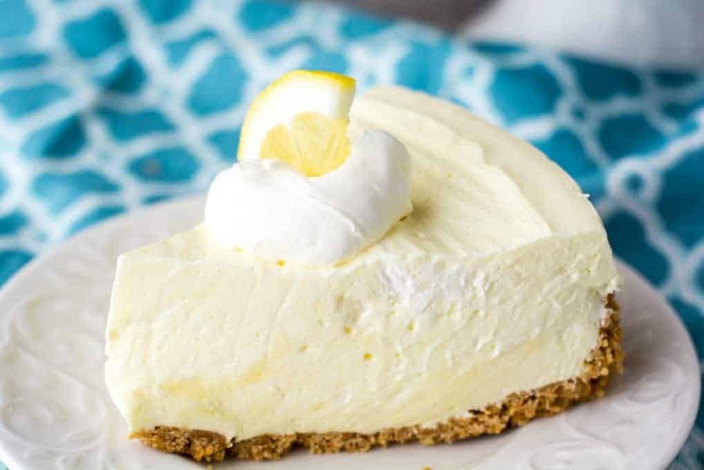 Spring Cheesecake No Bake No Bake Lemon Cheesecake 365 Days of Baking and More