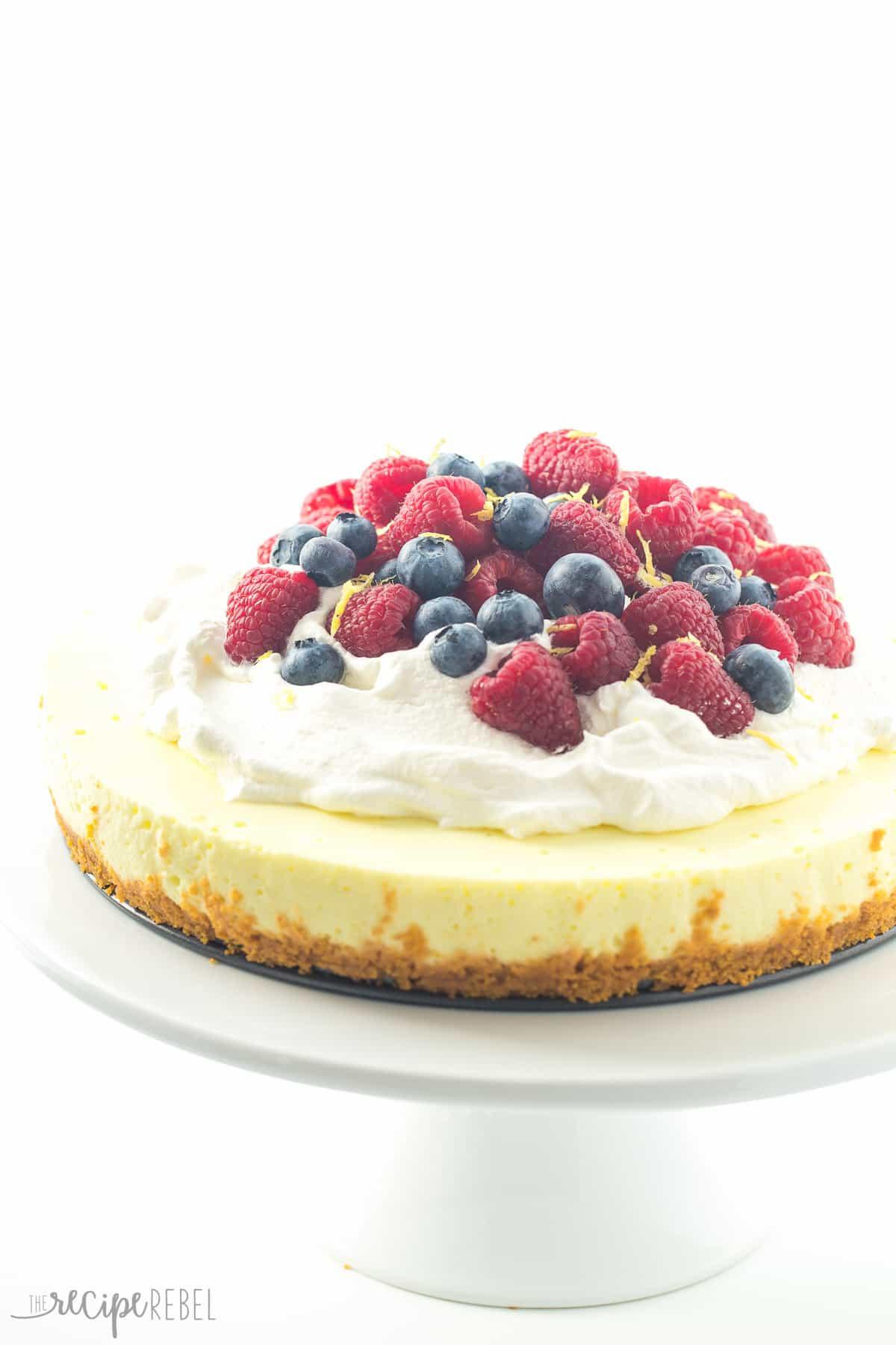 Spring Cheesecake No Bake Light No Bake Lemon Cheesecake Secret Ingre nt