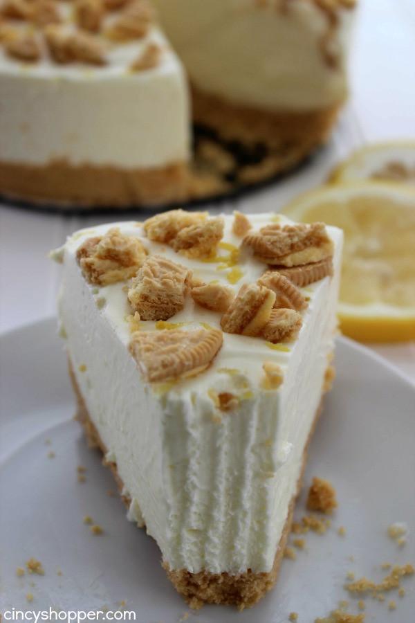 Spring Cheesecake No Bake No Bake Oreo Lemon Cheesecake CincyShopper